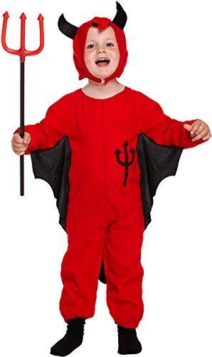 Cute Devil Kleinkinder Kostüm Kinder Jungen Mädchen Halloween (Cute Erwachsene Devil Kostüme Für)