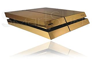 Sony Playstation 4 PS4 Polished Chrome Gold Skin Wrap Cover Decal Cover (B00I09R8KI) | Amazon price tracker / tracking, Amazon price history charts, Amazon price watches, Amazon price drop alerts