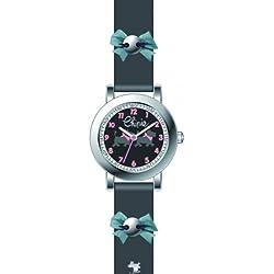 Chipie Mädchen-Armbanduhr Analog Kunststoff schwarz 5209505