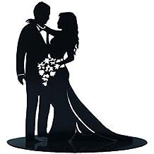 DISOK - Figura Pastel MetáLica Enamorados