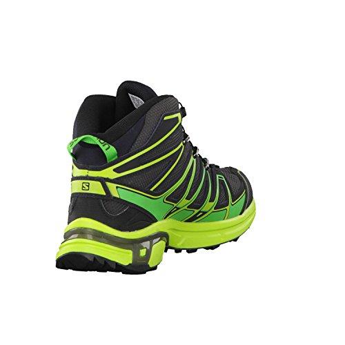 Salomon L39183200, Stivali da Escursionismo Alti Uomo Black