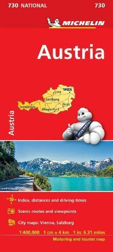 Austria - Michelin National Map 730
