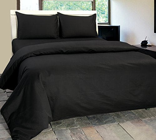 Homescapes Luxus Baumwoll-Satin Spannbettlaken dunkelgrau 150 x 200 cm extra Spannbetttuch 100% ägyptische Baumwolle Fadendichte 1000 (Luxus-bettwäsche)