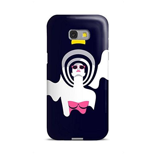 artboxONE Samsung Galaxy A5 (2017) Premium-Case Handyhülle Moonrise II von Sasha Lend