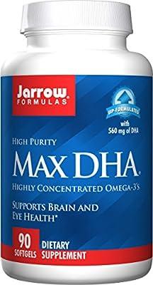 Jarrow Formulas Max DHA 90 Softgels