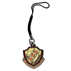 Angel Beats SSSS Emblem Cell Phone Charm