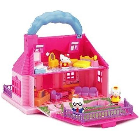 Hello Kitty Carry-Along Mini Doll House by Blue Box