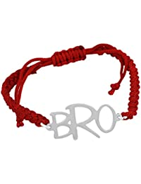 Exxotic Designer Sterling Silver Bro Rakhi Bracelet Rakhshabandhan Gifts for Boys
