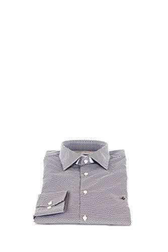 Camicia Uomo Brooksfield 44 Marrone 202i.q036 Primavera Estate 2016