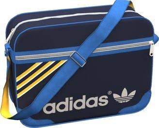 adidas Schultertasche Adicolor Airliner, legend ink/blue bird/sunshine/blis, One Size,