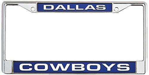 Rico Dallas Cowboys Kennzeichenrahmen (verchromtes Metall)