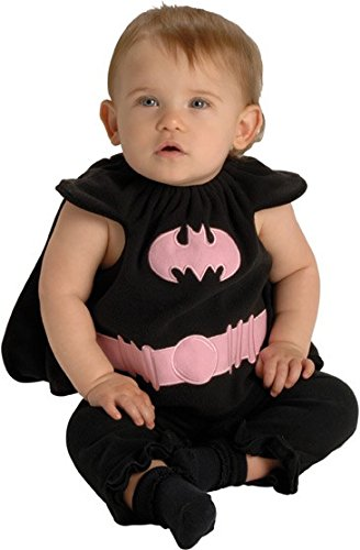 Batgirl Deluxe Kostüm aus Batman, Größe:Newborn (Rubies Baby Halloween Kostüme)
