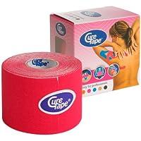 CureTape Kinesiologie Tape für Sport & Medizin rot 5 m x 5 cm, 1 Rolle preisvergleich bei billige-tabletten.eu