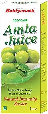 Baidyanath Amla Juice - Rich in Vitamin C and Natural Immunity Booster - 1L