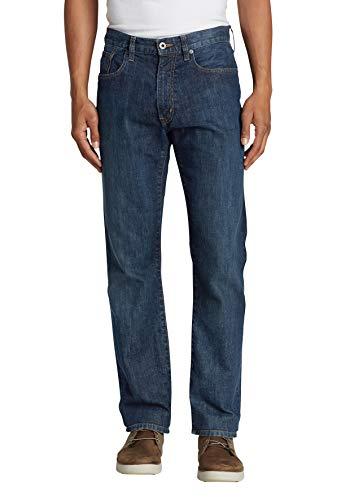 Eddie Bauer Herren Flex Jeans - Straight Fit, Gr. 40-32, River Rock -