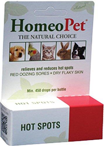 HomeoPet Llc DHO14709 Hot Spots Gouttes