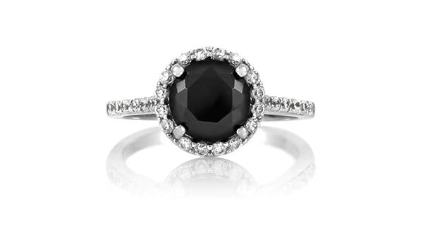 Sesso e la città anello di fidanzamento diamante nero
