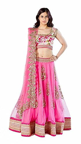 Aarvicouture Women's Party Wear Navratri New Collection Special Sale Offer Bollywood Pink...