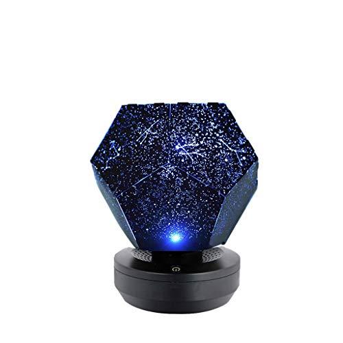 Sterne Projektor,Xmansky Sternlampe Rotierende Wiedergabe Sternenhimmel-Projektions-Lampe Sterne Romantische Sternenlichter,Geeignet für Geburtstag, Valentinstag, Geschenk zum Muttertag -