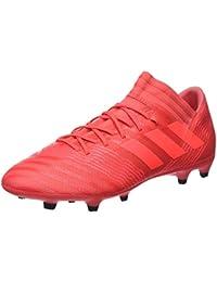 best sneakers cfe5a 11d4c adidas Nemeziz 17.3 Fg, Scarpe da Calcio Uomo, Rosso (Reacor Redzes