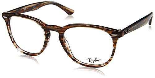 Ray-Ban Unisex-Erwachsene 0RX 7159 5749 52 Brillengestelle, Braun (Brown Grey Spped),