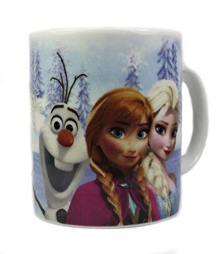 Disney Frozen Tasse En Céramique, Avec Elsa, Anna et Olaf (Not En Boîte De Cadeau)