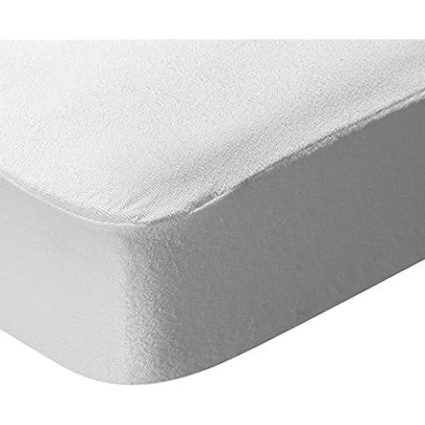 Pikolin Home Antialérgico - Protector de colchón rizo, antialérgico, impermeable y transpirable, 180 x 200 cm, cama 180