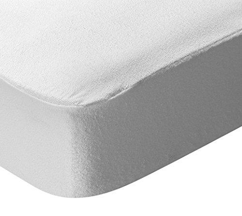 Pikolin Home - Protector de colchón de rizo, antialérgico antiácaros, bacterias y moho, impermeable...