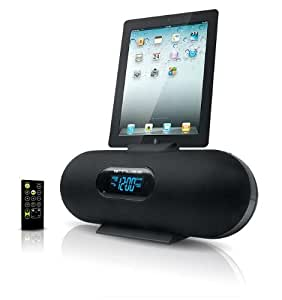 muse m 158 ip station d 39 accueil radio r veil pour ipod iphone ipad noir audio hifi. Black Bedroom Furniture Sets. Home Design Ideas