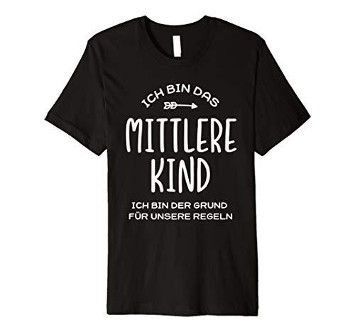 Ich bin das mittlere Kind Shirt Familienshirt Geschenke