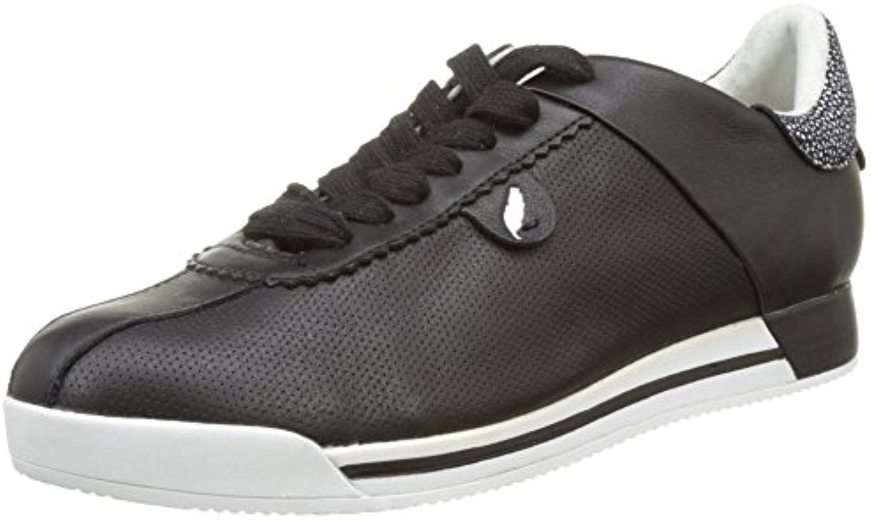 Geox Damen D Chewa A Sneakers 2018 Letztes Modell  Mode Schuhe Billig Online-Verkauf
