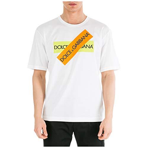 Dolce&Gabbana Herren T-Shirt - Bianco 48 EU