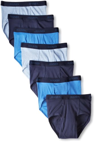 Hanes Ultimate Men's 7-Pack FreshIQ Full-Cut Briefs