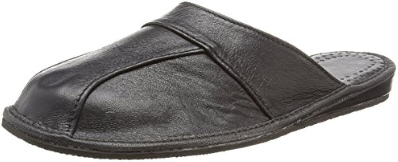 Herren Hausschuhe | LEDER Pantoffeln | 28