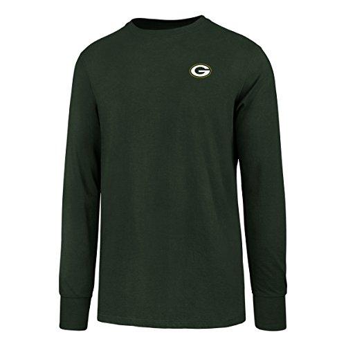 OTS NFL Herren NFL Green Bay Packers Rival Long Sleeve Tee, Herren, Rival Long Sleeve LCCB Tee, Hudson, XX-Large -