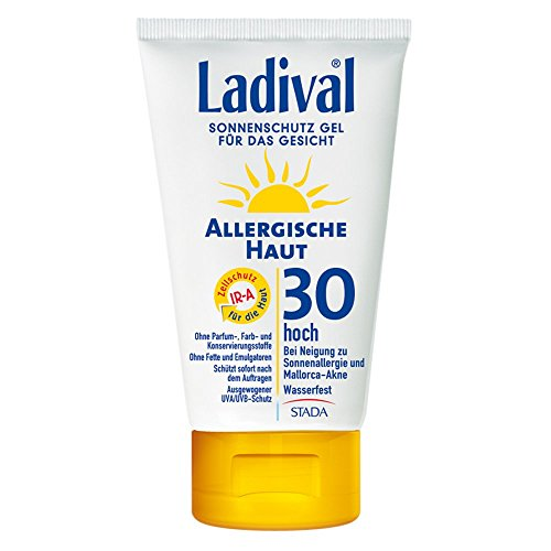 Ladival Allergische Haut Gel Gesicht LSF 30, 75 ml
