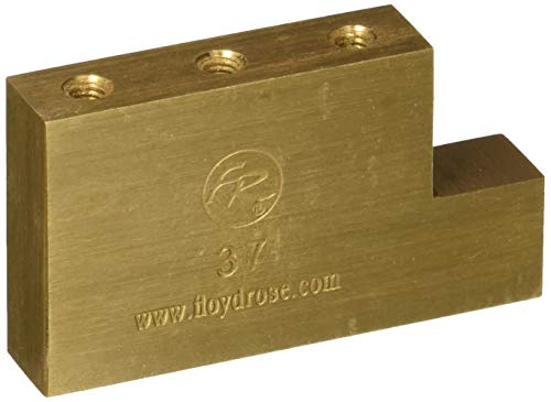 Floyd Rose Fat Messing L Block Elektrische Gitarre Brücke (froftbl37) Update-international Ap