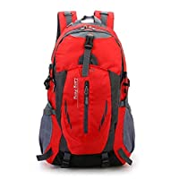 Lszdp-negozio Travel Daypack Sports Leisure Travel Backpack Bag Waterproof Large Capacity Travel Mountaineering Bag 40L Perfect for professional photographers and hobbyis