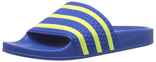 Adidas ADILETTE 280647, Sandali unisex adulto, Blu(Blau (Bluebird/Light Flash Yellow S15/Bluebird)), 40 2/3