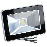 Pro Elec?10W IP65Projecteur LED fin, 680lm