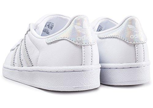 promo code 89b5c 8b44e ... adidas Originals CQ2734 Sneakers Bambino Bianco 30