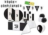 BIGIEMME Kit n 59 F.C. Juventus Coordinato Tavola Compleanno Tifoso Juve Party Festa