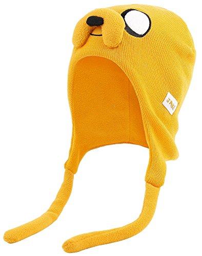 Adventure Time Jake Laplander Mütze gelb (Adventure Time Jake Mütze)