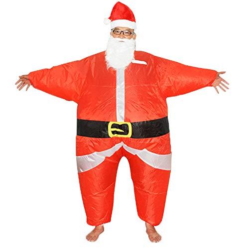 Santa Claus Maskottchen - Sumferkyh Faschingskostüm für Erwachsene Santa Claus