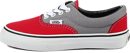 Vans - Jugend K Era Schuhe In 2 Tone Frost Grau / Wahre Red 2 Tone Frost Grey/True Red