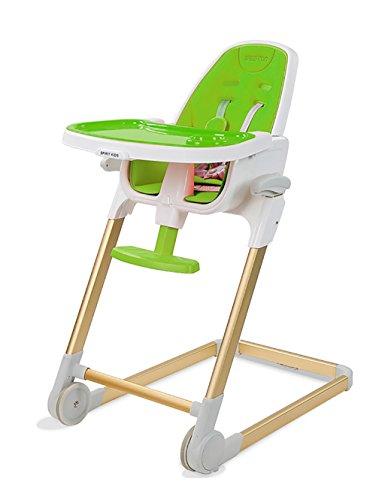 Hochstuhl Baby Portable Folding (XWZ Kinderstuhl Multifunktions - Portable Babystühle Folding Babystühle Esszimmerstühle Baby Esszimmerstuhl Verschiedene ( Farbe : Grün ))