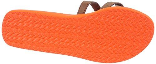 Kustom ruby sandales pour femme beige/orange tan orange