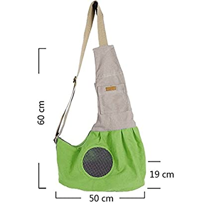 Shoulder Carry Handbag for Pets - AntEuro Portable Hands-free Pet Foldable Travel Carrier Bag, Sling Shoulder Bag for… 3