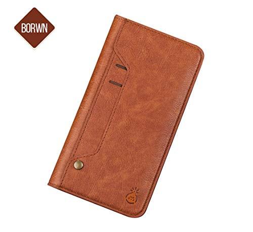 Adatto per iphone7 / 8/9 / plus / x xs / xs max / xr flip, slot per schede interne ed esterne, custodia per telefono. custodia per smartphone samsung galaxy s8 + / s8 / note 8 versatile, elegante