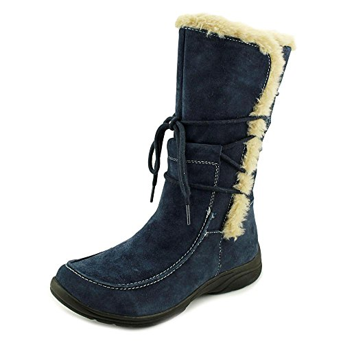 Earth Origins Danielle Damen Breit Wildleder Winterstiefel Navy